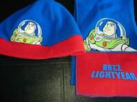 Size 2-4 buzz lightyear hat and scarf