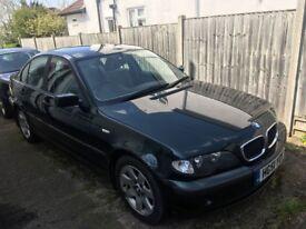 BMW 318i SE Saloon, Petrol, Manual, MOT failure (brake lines) Spares or Repair