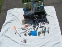 Fishing Box and Sundry Items for Sea and Fresh Water Fishing