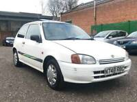1996 Toyota starlet 1.3 sportif Auto Automatic - rare small auto