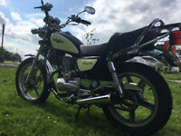 Lexmoto Vixen (Cruiser Bike), 125cc, - Fitted with Immobilizer and Alarm!