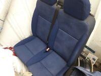 citreon peugoet fiat van double passenger seat