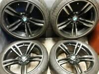19 inch 5x120 genuine staggered BMW M4 / M3 2015 alloy wheels