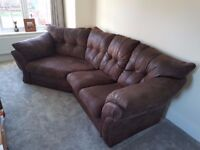 Lebus Florida Cosy Corner Sofa with Chair and Footstall