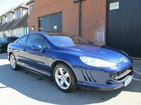 2008 PEUGEOT 407 COUPE DIESEL 70,000 MILES Part exchange available / Credit & Debit cards accepted