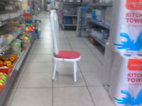 White painted childs chair