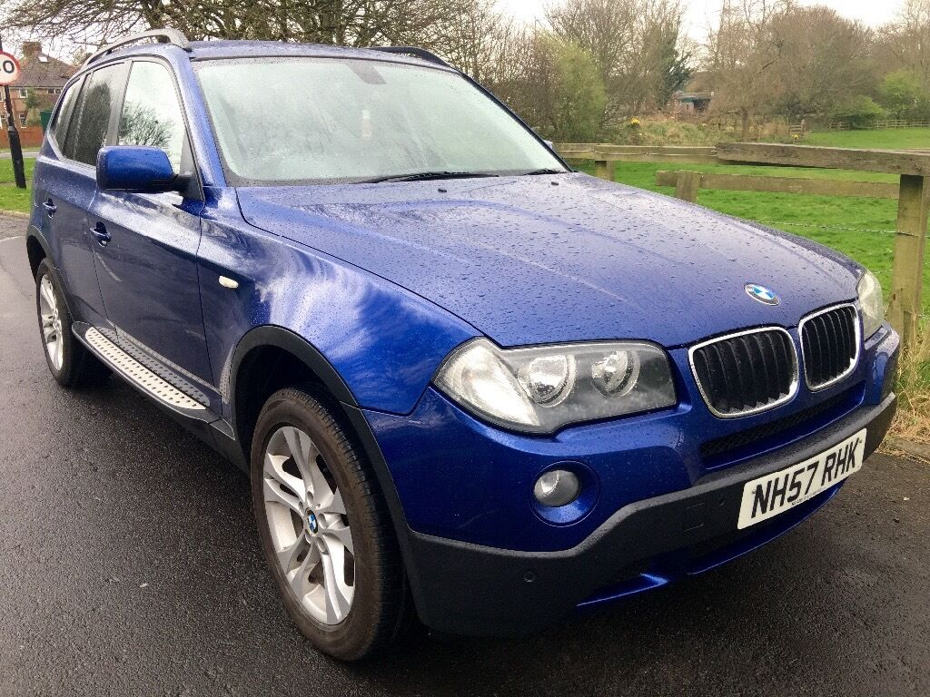 bmw x3 2 0 d se 2008 60000 miles service history reduced total bargain can deliver. Black Bedroom Furniture Sets. Home Design Ideas