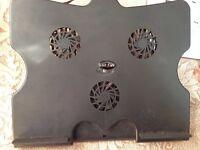 3 quite Fans USB Cooling Pad cooler for laptop