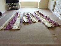 Living Room/Dining Room Curtains - fully lined, excellent condition