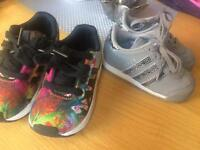 Toddler adidas trainers 5.5