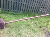 3 x metal clothes line posts - free if collect.
