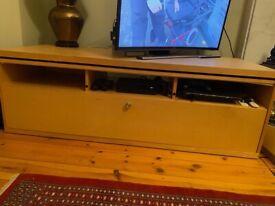 IKEA TV Beech unit with storage