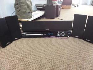 Phillips Home theater Sound System _ 5 Speakers Set
