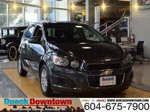 2016 Chevrolet Sonic LT - Original MSRP  $23,165