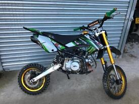 Pitbike 140cc tuned to 170cc
