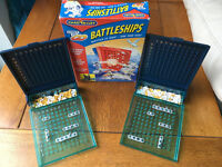 BATTLESHIPS - Great compact traditional game for kids and nostalgic adults alike