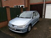Hello for sale my peugeot 306 2.0hdi lots of service history all time.driving to work 07912017716