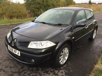 Renault Megane 2008 facelift, 1.6L petrol, only 33k miles, MOT 29/7/17, electric Windows, Alloys