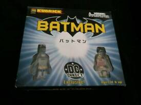BATMAN KUBRICKS DC BOX DEST BRAND NEW