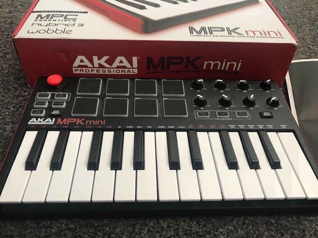 AKAI MPK mini professional ( elétrica keyboard) | in Walthamstow, London |  Gumtree