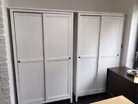2x IKEA HEMNES WARDROBES - 40% DISCOUNT
