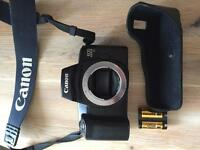 Canon EOS 1000F FILM SLR camera body. Great condition
