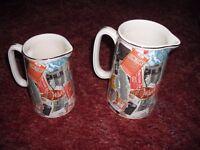 2 Ringtons 'Snapshots' milk jugs