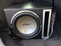 Mutant sub woofer and amp