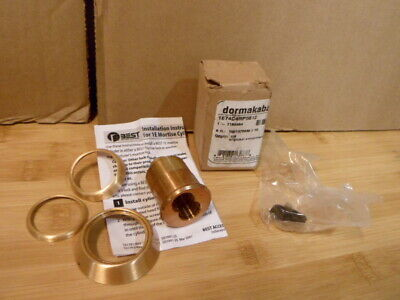 Best Access Mortise Lock Cylinder 1e74c4rp5612 - No Core Satin Bronze