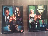 Season 2 and 3 24 DVD boxsets