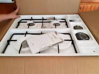 Gas stainless steel hob Brand New