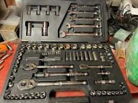 Halfords advanced 90 piece socket set, guaranteed for life,