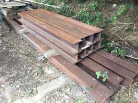 RSJ Steel beam. 6.1 metres long