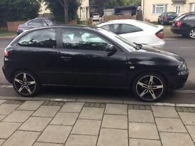 Seat Ibiza Spares or Repairs 2005 Black £499
