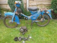 Honda c50 for spares not c70, c90
