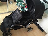 Graco double buggy bin used only couple of times
