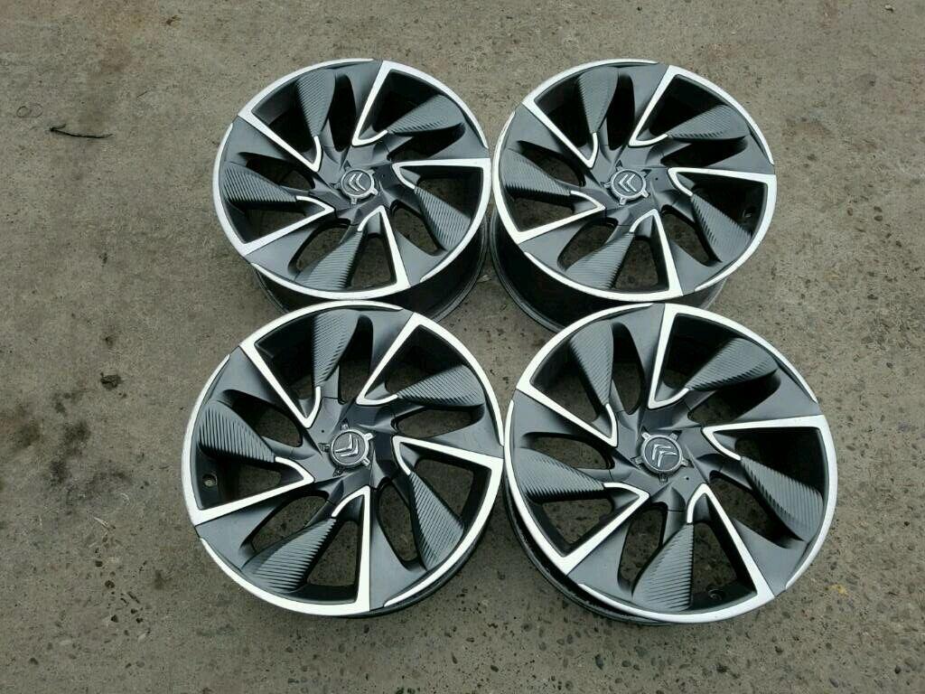 Genuine Citroen 19 Quot Cairns Ds4 Ds5 Alloy Wheels 4x108