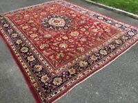 Big handmade rug - 373 x 305 cm