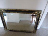 Antique look mirror