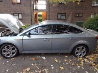 ford mondeo titanium X TDCI 57-08 plate.. 1.8 diesel breaking for parts... Front end damaged..