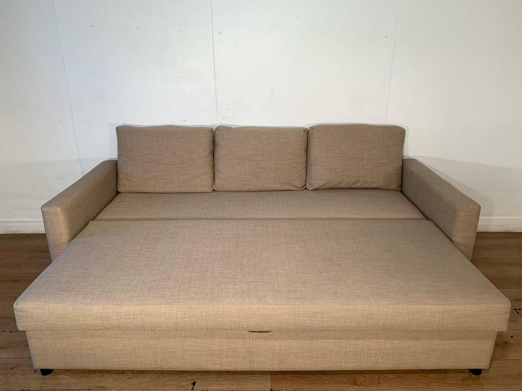 Stupendous Beige Ikea Sofa Bed With Free Delivery Within London In Clapham London Gumtree Cjindustries Chair Design For Home Cjindustriesco