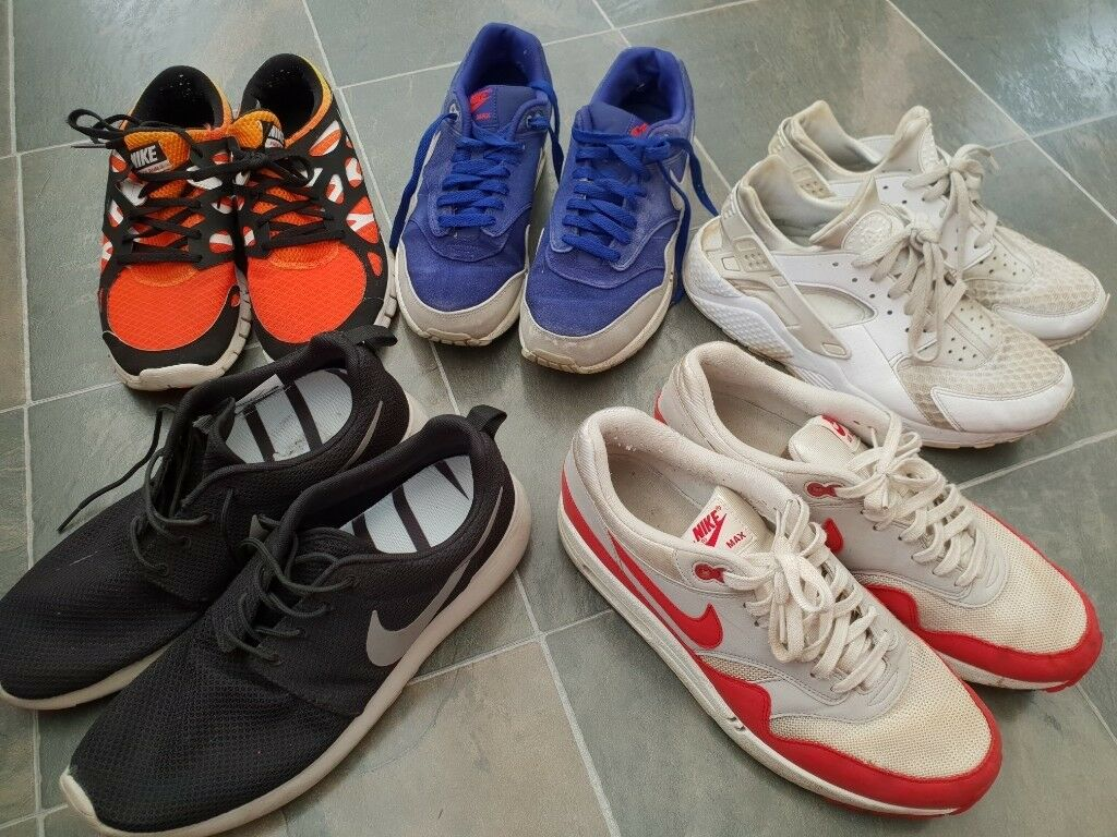 3381804c3e84d Various used Nike mens trainers - size 9