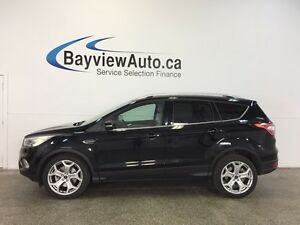 2017 Ford ESCAPE TITANIUM- 4WD! ROOF! NAV! BLIS! APA! PWR TRUNK!