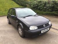 **BARGAIN PRICE**VOLKSWAGEN GOLF 1.6 PETROL 5DR IN MINT CONDITION**