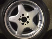 "Mercedes clk front alloy wheel for sale only got one 17"" £95 call 07860431401"