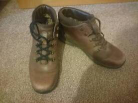 Walking shoes boots size 8