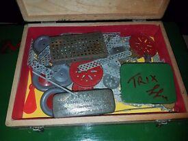Vintage Trix Joblot - Collectable vintage construction toy