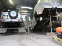 Toyota Land Cruiser Hilux. VW Amarok. Isuzu D-Max. Chassis rust treatment. Mot prep.