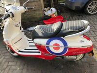 Fantastic Retro 50cc moped - phone charging socket, derestricted, twin seat, great fun/get around