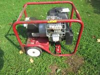 Generac 2.2Kva Petrol Generator 240volt and 110volt outlets. 6hp briggs & Stratton Engine